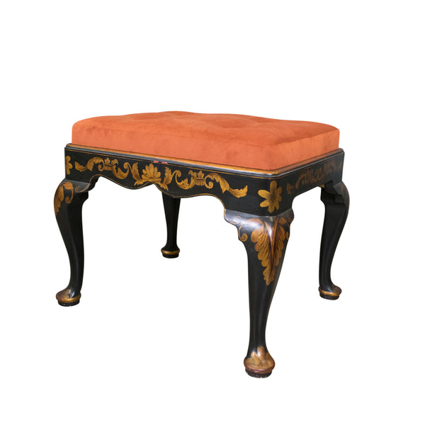 A Chinoserie Decorated Stool