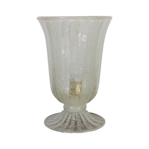 A Frosted Murano Floor Lamp