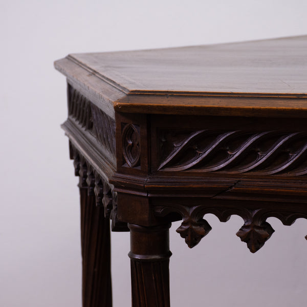 French Gothic Hexagonal Style Centre Table (on hold)