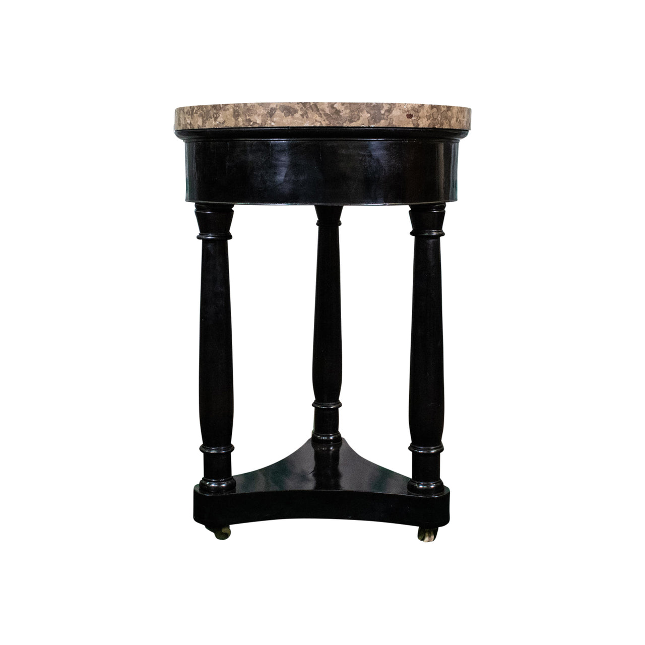 19th Century Ebonised Side Table