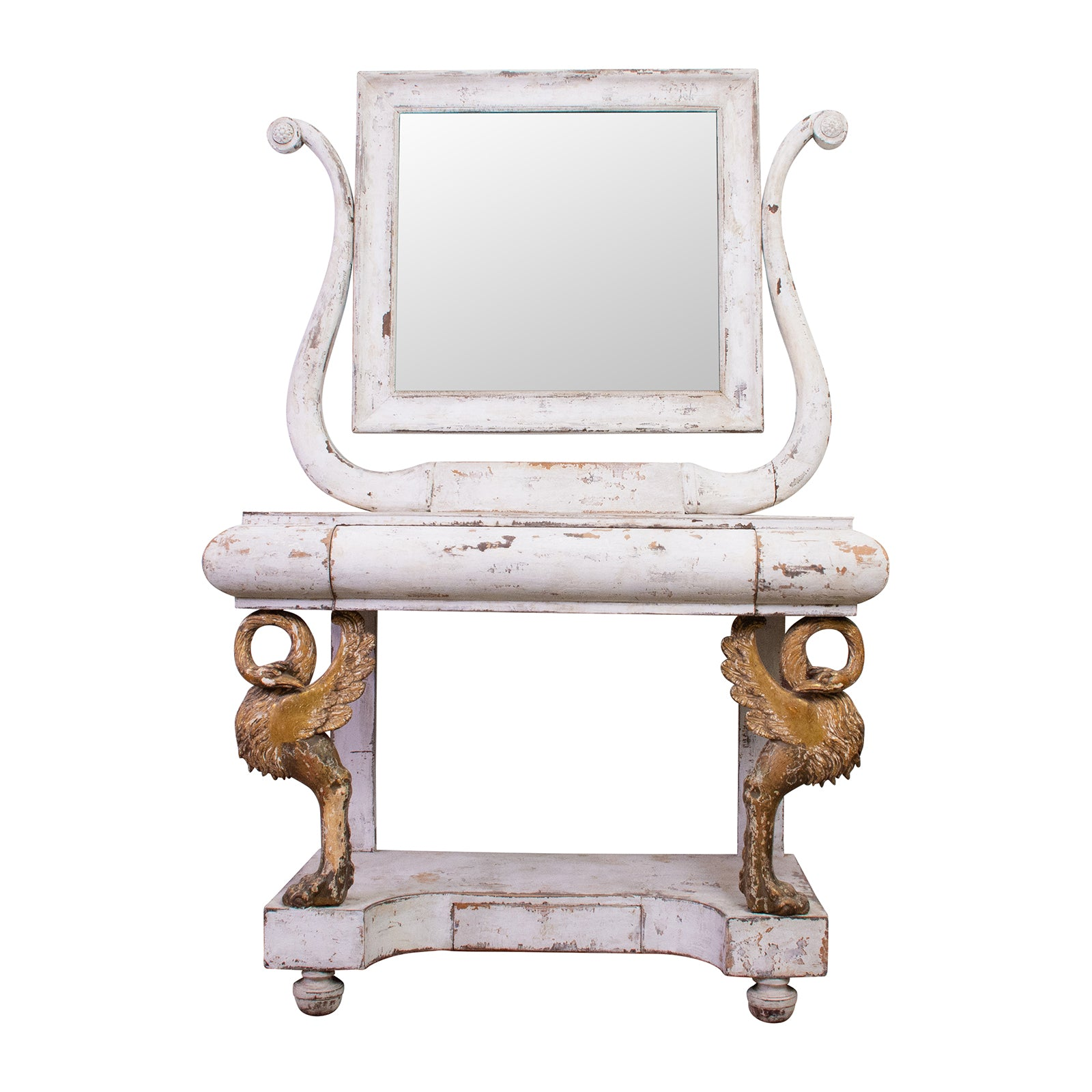 Italian Charles X Period Dressing Table