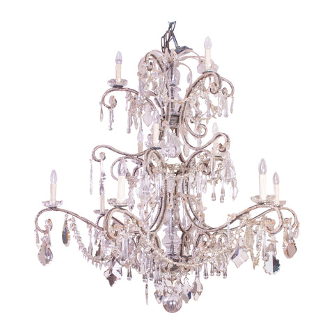 A Substantial early 20th Century Italian Chandelier