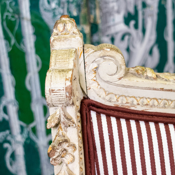 Italian Louis XVI Settee Close Up