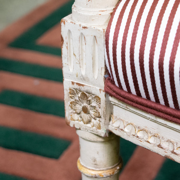 Antique Italian Settee Close UP