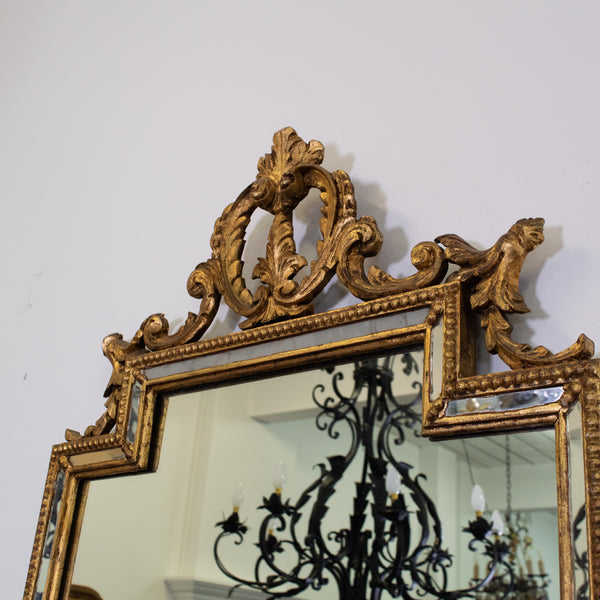 Italian Neo-Classical Style Giltwood Mirrors