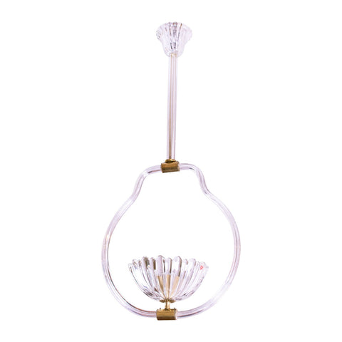 Mid-Century Murano Pendant Attributed to Barovier & Toso