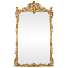 Antique Louis XV Style Giltwood and Gesso Mirror