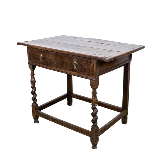 Early Georgian Oak Side Table