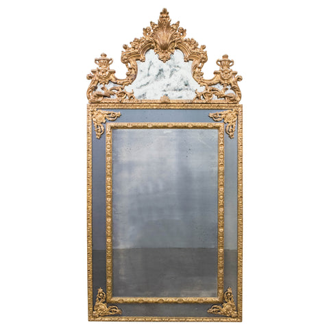 A Fine Regence Style Giltwood Mirror