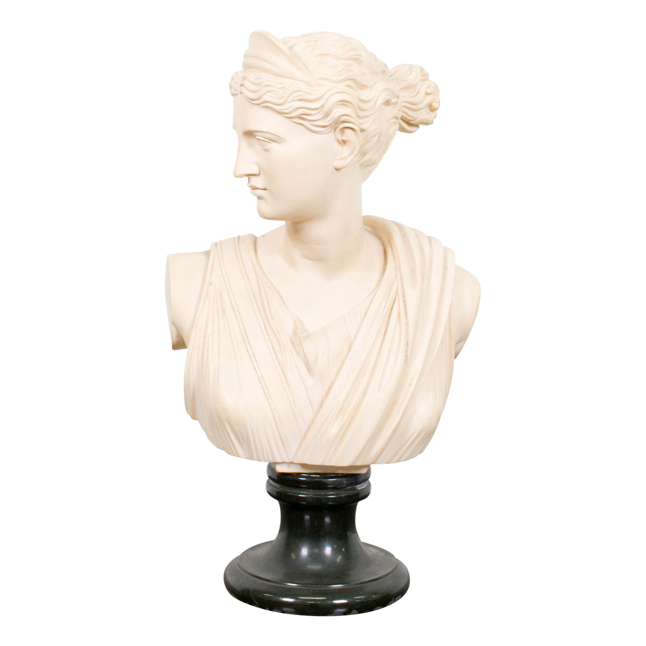 A Cast Bust of Diana the Huntress