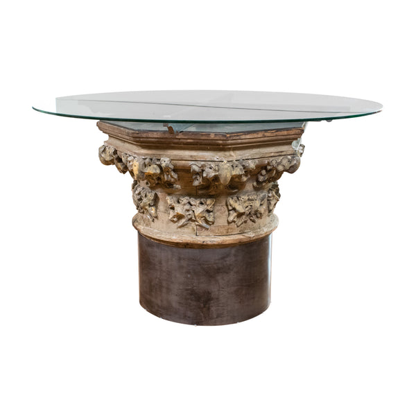 A 19th Century Corinthian Capital Table