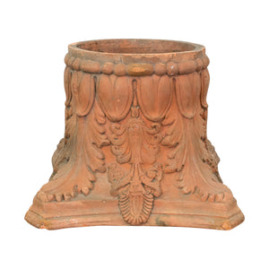 A 19th Century French Terracotta Corinthian Capital