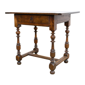 A French 19th Century Fruitwood Side Table
