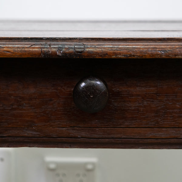 French 19th Century Oak Side Table