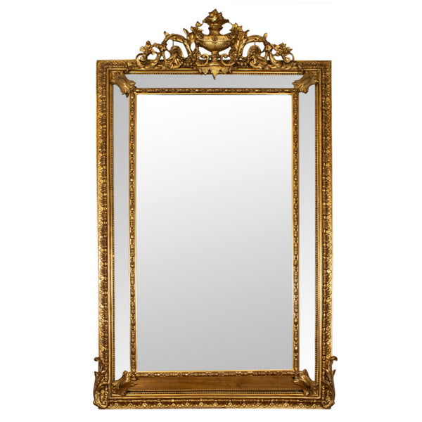 A Late 19th Century Louis XVI Style Mirror