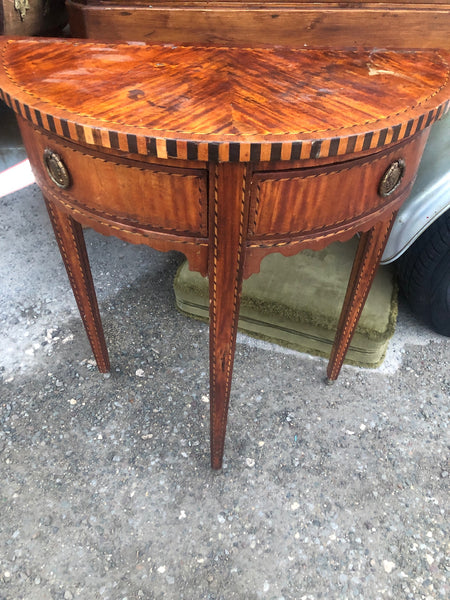 Italian 18th Century style Demi-Lune Side Table