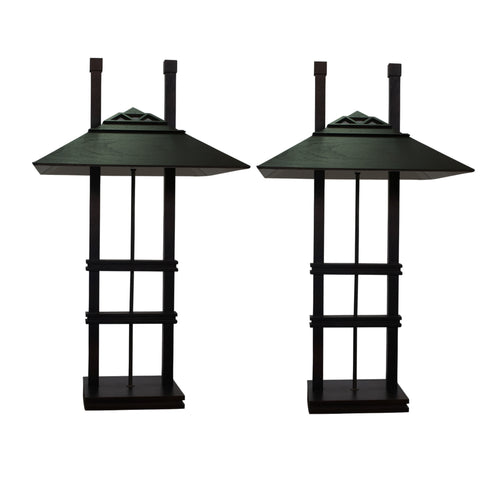 Pair of Lamps in the manner of Walter Burley Griffin (1876 – 1937)