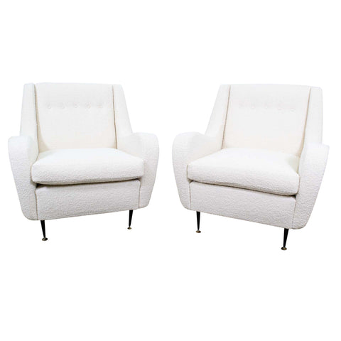 Pair of Mid-Century Italian Armchairs