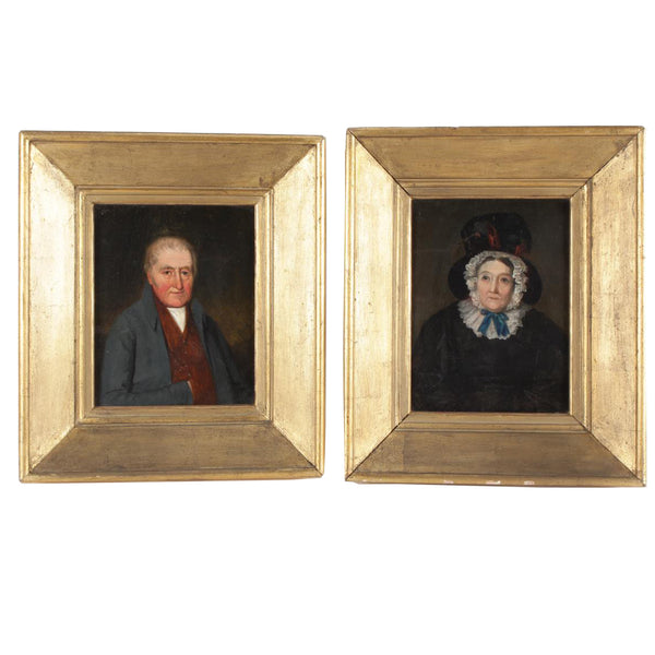 Pair of Late 19th Century Portraits