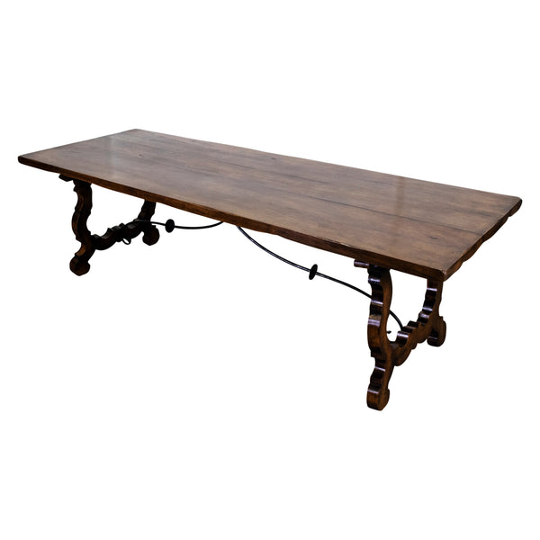 A 18th Century Style Spanish Walnut Dining table