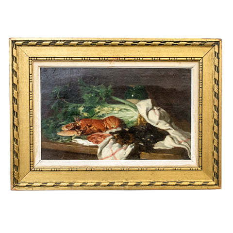 19th Century Still Life with Lobster