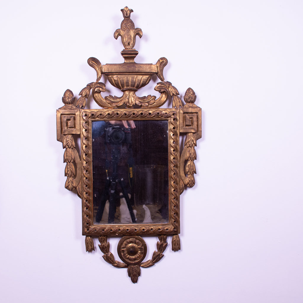 Antique French Neo-Classical Giltwood Mirror – The Vault ...