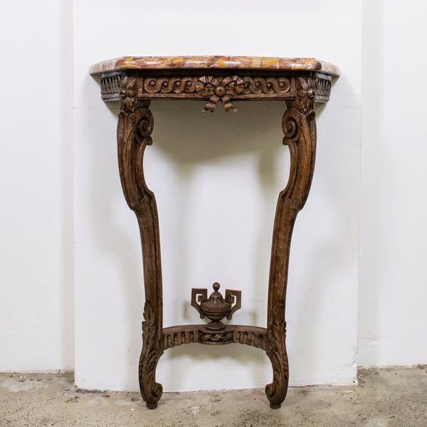 19th Century Louis XV Style Oak Console