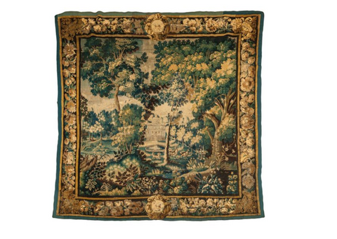 A Large Late 17th Century Aubusson Tapestry