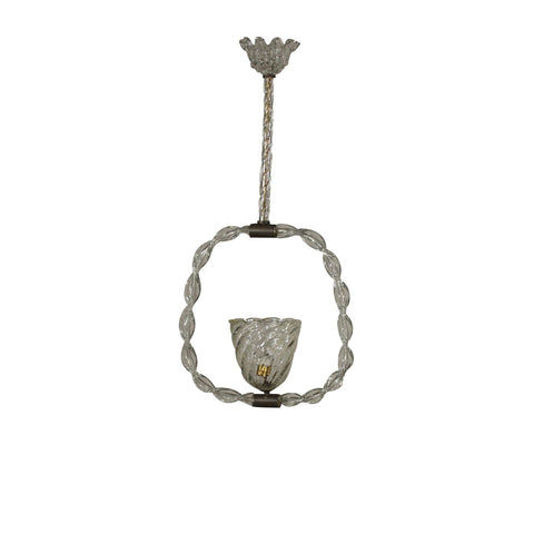 A Mid-Century Barovier & Toso Pendant