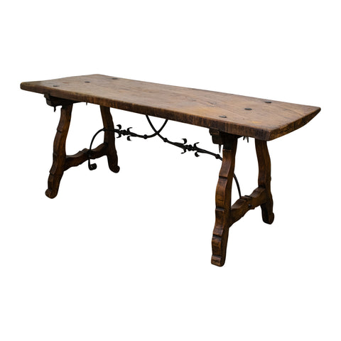 Spanish late 19th Century Oak Table
