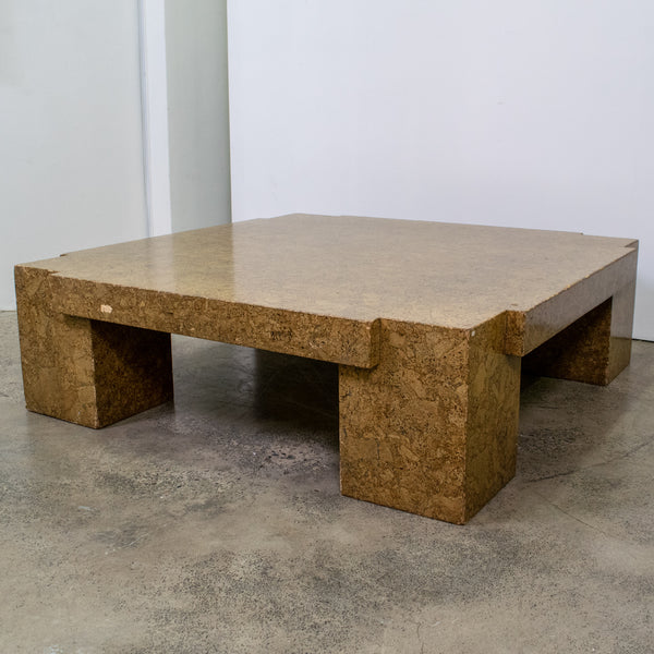Cork Coffee Table Belgium, 1970s