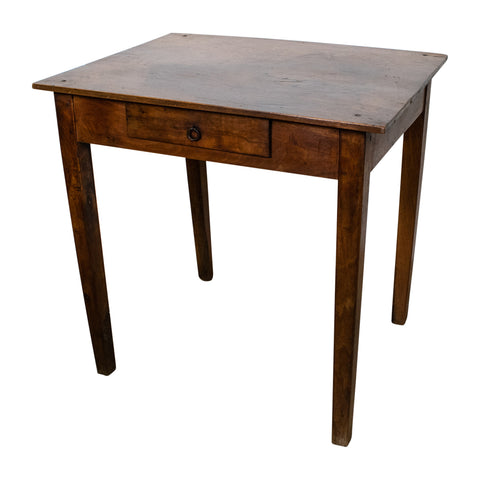 19th Century Small oak side table
