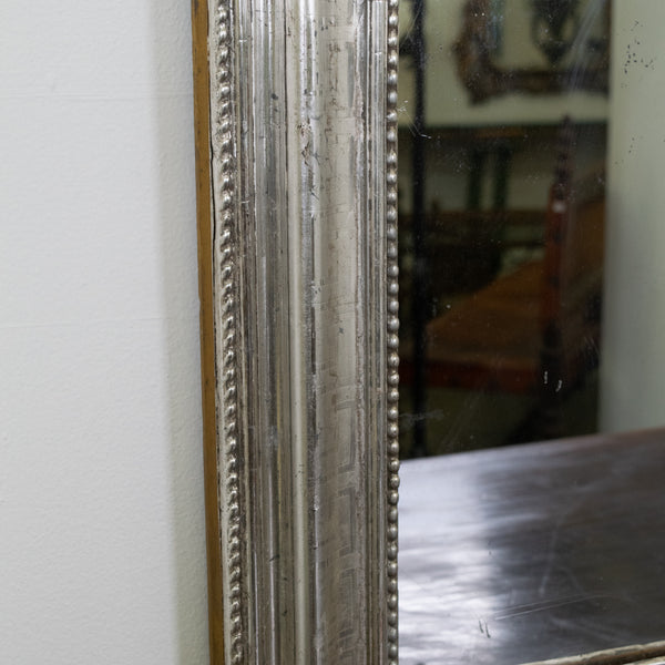 Louis Phillippe style Silver Gilt Mirror