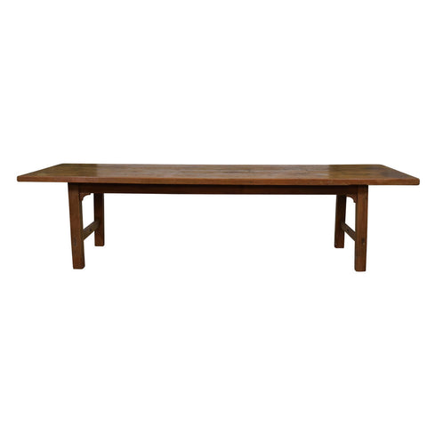 A Large Antique French Convent's Refectory Table