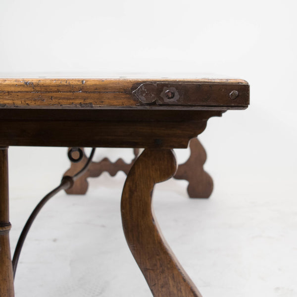 A Spanish Style Oak Dining Table