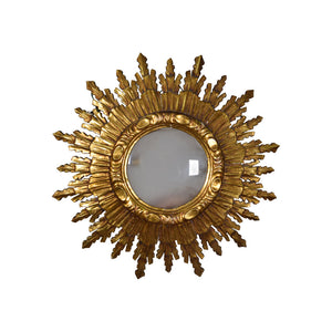 Art Deco Gilt Starburst Wall Light