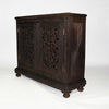 An Anglo Indian  carved hardwood Cabinet
