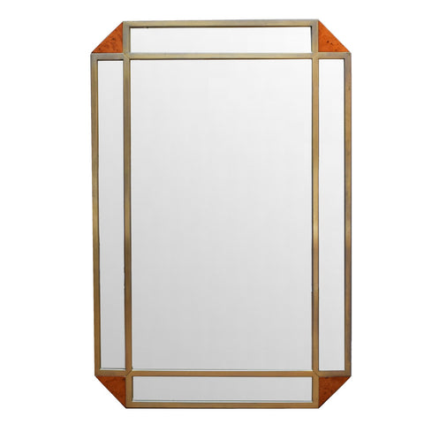 A Large Art Deco Style Mirror