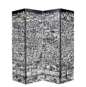 Jerusalem Folding Screen by Piero Fornasetti