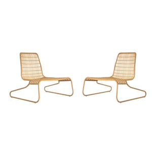 Pair of Low Flo Chairs Designed by Patricia Urquiola