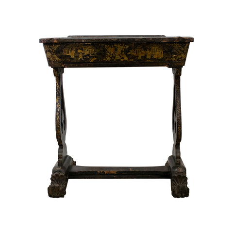 Mid 19th Century Chinoiserie Sewing / Work Table