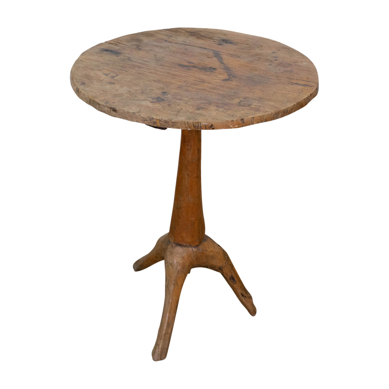A Natrualistic Wooden Side table