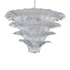 "Murano Four Tier ""Palmette"" Chandelier"