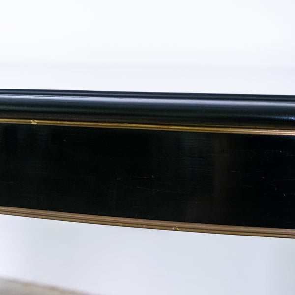 Louis XVI Style Ebonised Extending Dining Table