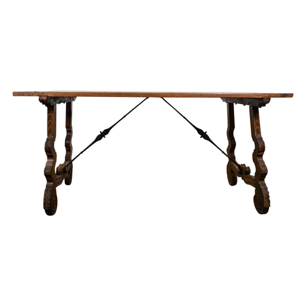 A 18th Century Spanish Walnut Dining Table