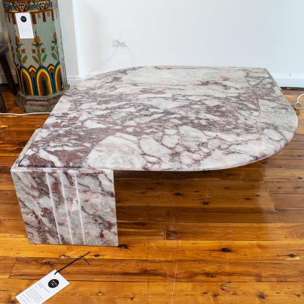A Rogue Breccia Marble Coffee Table