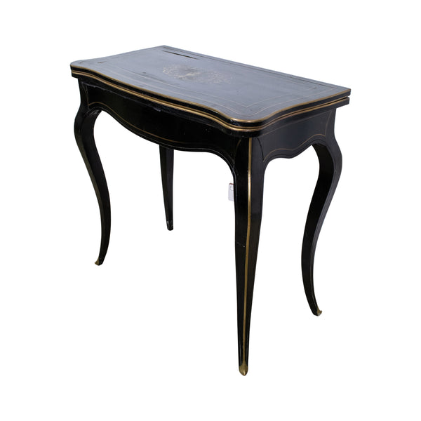 Napoleon III Boulle Fold-Over Table