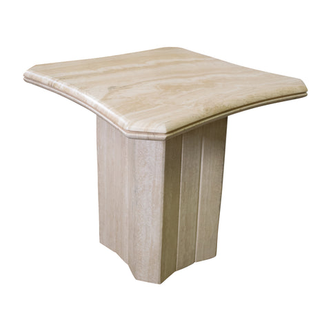 A Travertine Side Table (on hold)