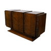 18th Century Spanish Walnut ConsoleA Mid-Century Walnut United Furniture Company Brutalist Credenza