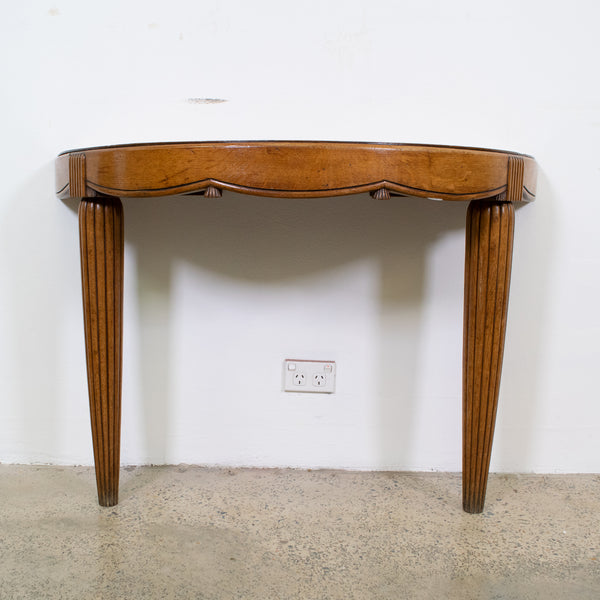 French  Demi-Lune Console Table